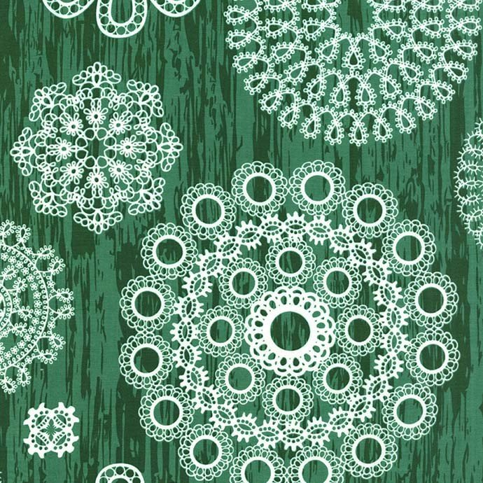 Christmas at Brambleberry: Knots and Loops in Green