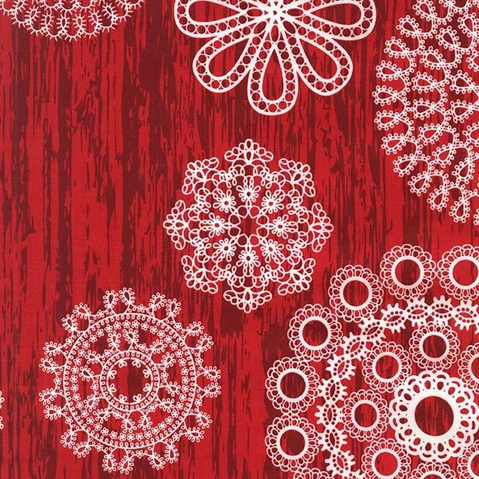 Christmas at Brambleberry: Knots and Loops in Red