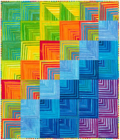 Dimensions - Batik Quilt Kit  54 X 63