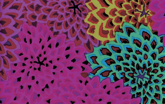 Dahlia Blooms Figg