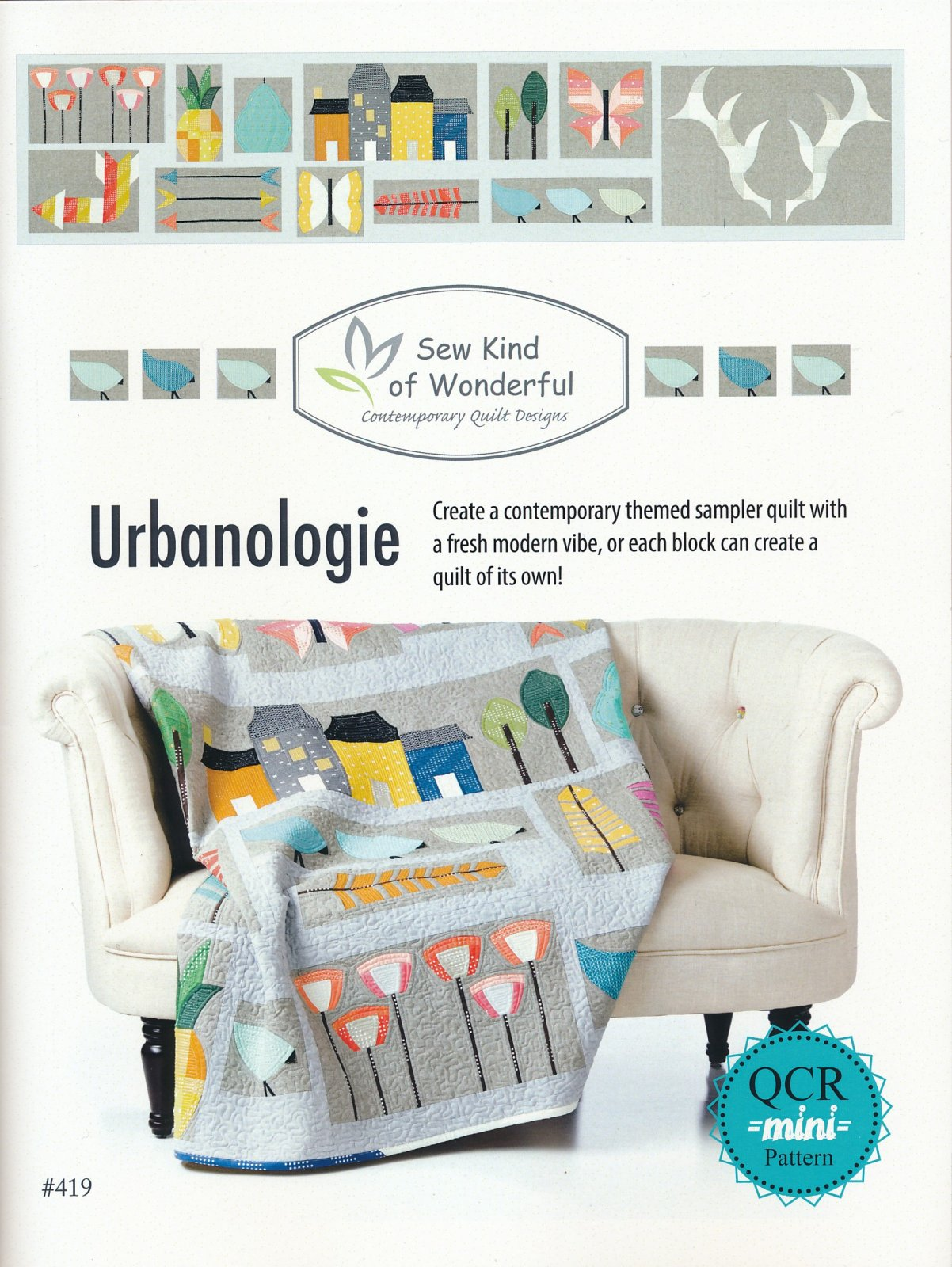 Urbanologie - Contemporary Quilt Designs