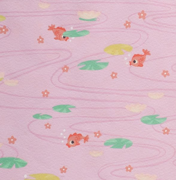 Alexander Henry Indochine Kingyo Goldfish Pink