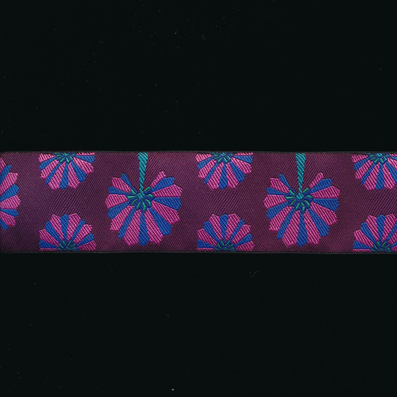 Kaffe Fassett Ribbon Paper Fans in Purple 1.5