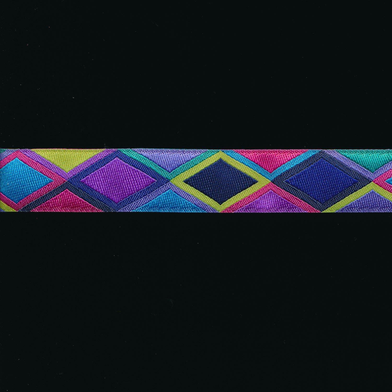 Kaffe Fassett Diamond Ribbon in Purple 7/8