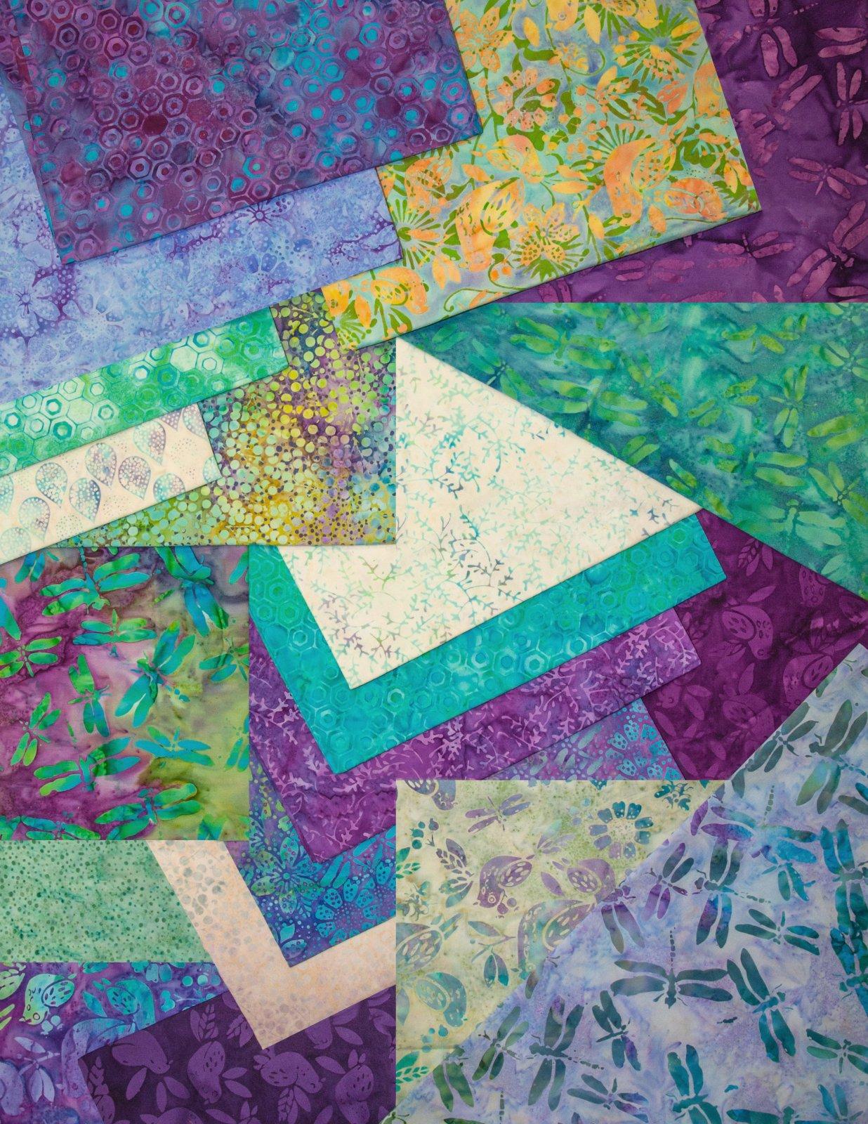 Lavendula 10 Square Stack