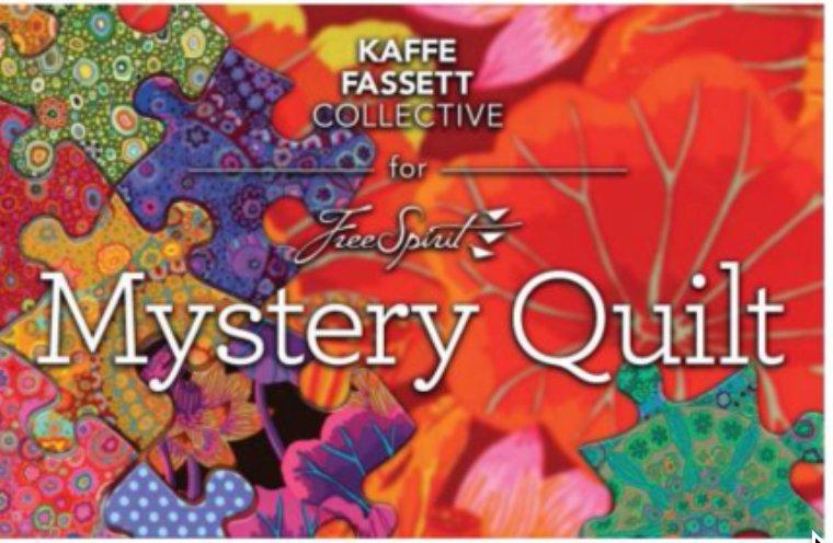 Kaffe Fassett Mystery Quilt program