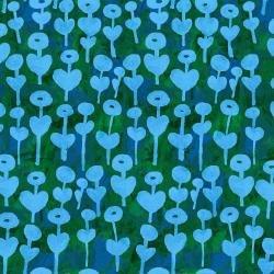 love flower on blue