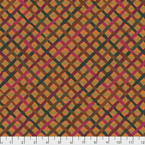 Brandon Mably Mad Plaid in Rust