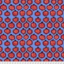 Pomegranate in Blue