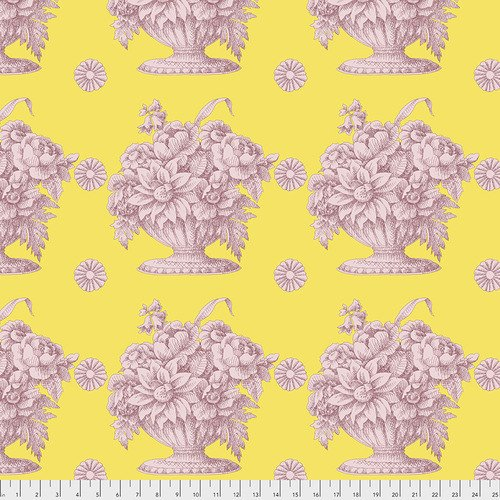Stone Flower in Yellow
