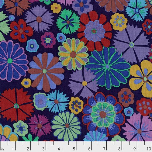 Artisan Collection: Folk Flower in Purple