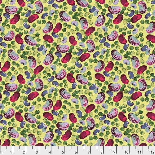 Martha Negley - Veggies: Peas & Beans Bright