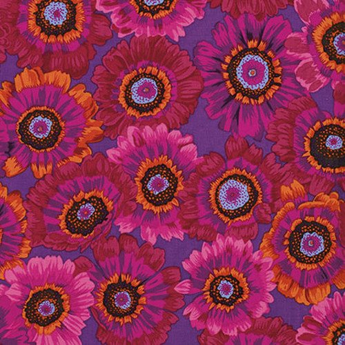Philip Jacobs Painted Daisies Magenta