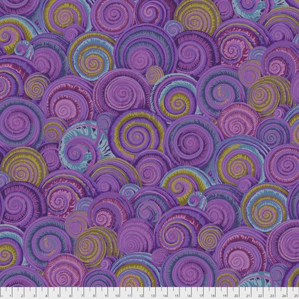 Spiral Shells in Lavendar
