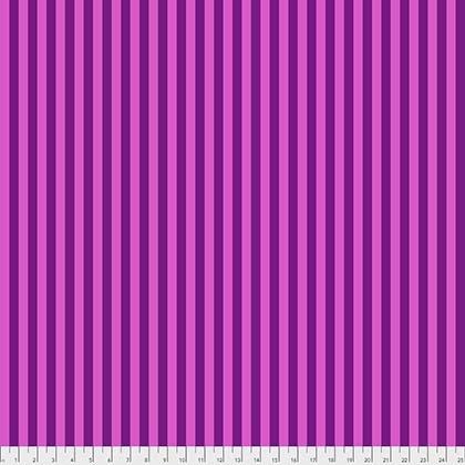 Tula Pink Tent Stripes FoxGlove