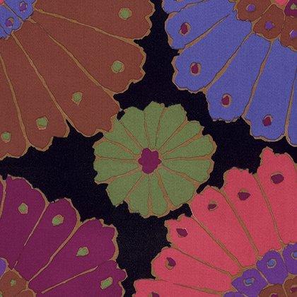 Kaffe Fassett Backing Fabric: Carpet in Black