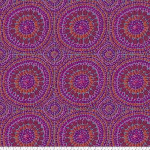 Kaffe Fassett Backing Fabric: Fruit Mandala in Pink