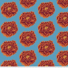 Kaffe Fassett Backing Fabric: Full Blown in Red