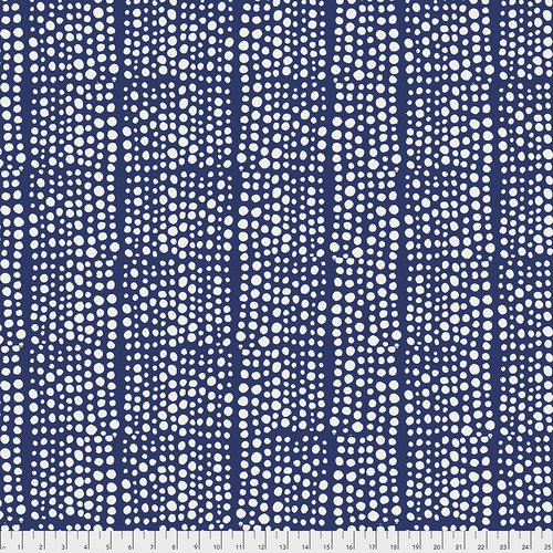 Valori Wells Dots Indigo 108 wide Backing fabric
