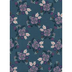 Akoma: Wildflower in Teal