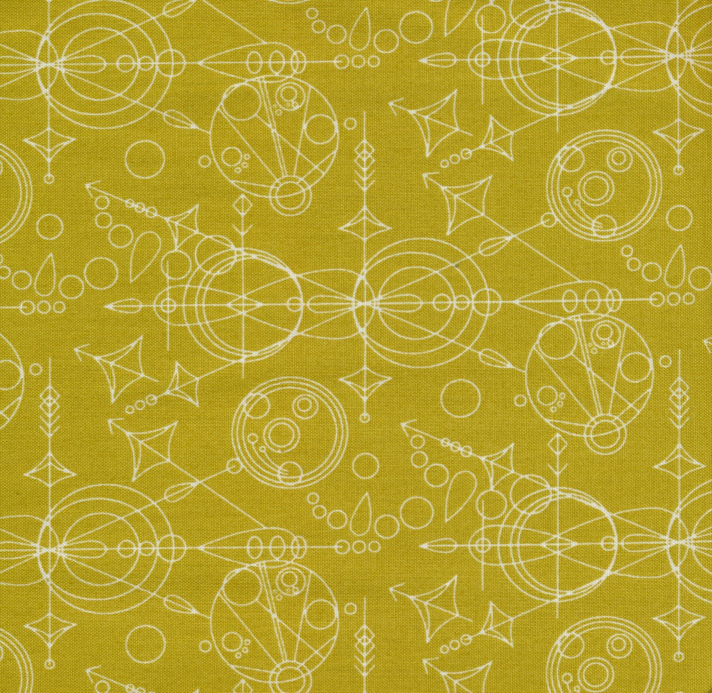 Sun Prints: Mercury in Chartreuse