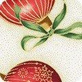 Holiday Flourish: Ornaments Cream