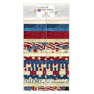 Stars and Stripes - 2.5 Strip Pack