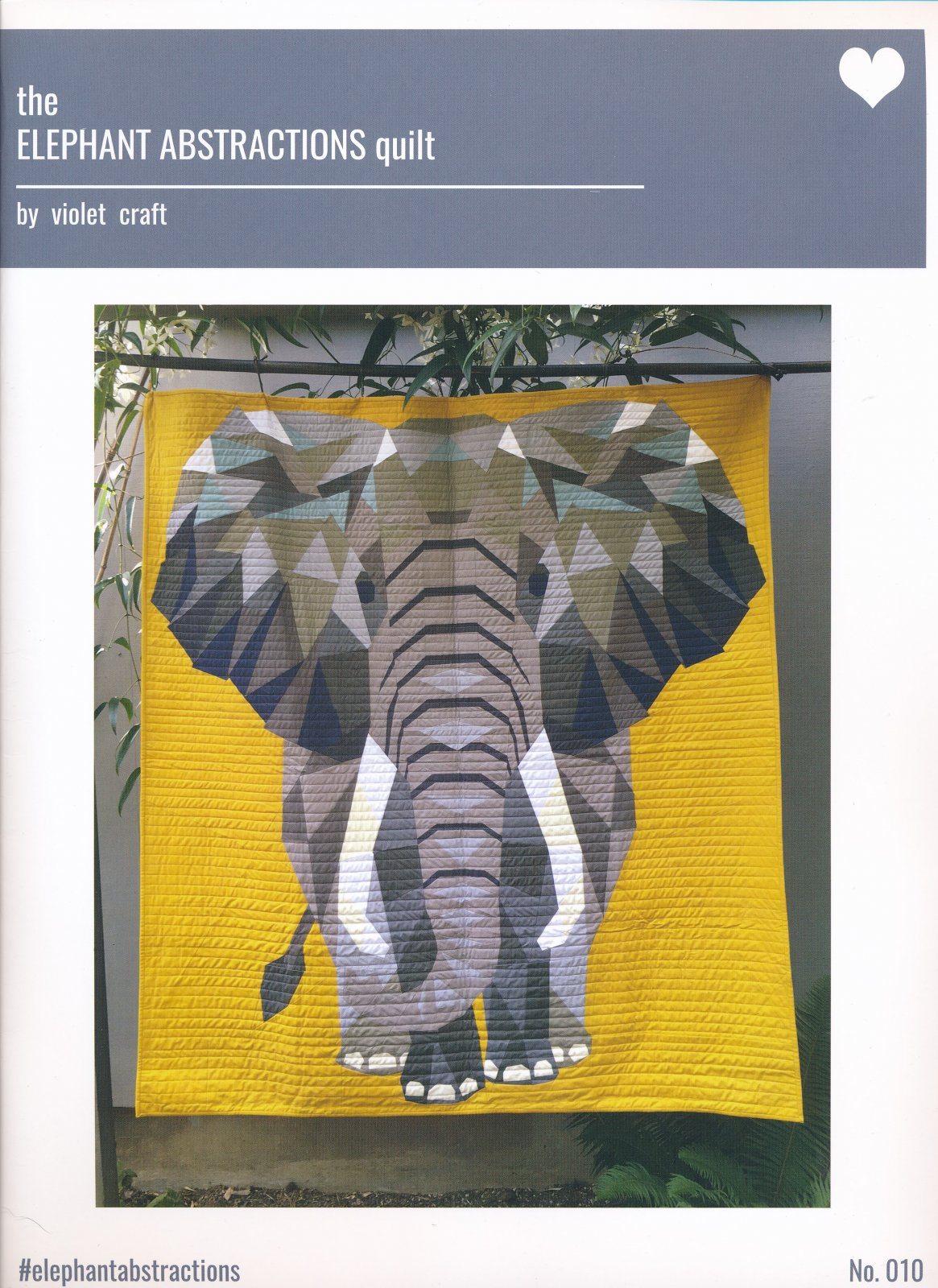 Jungle Abstractions Quilt Pattern: The Elephant