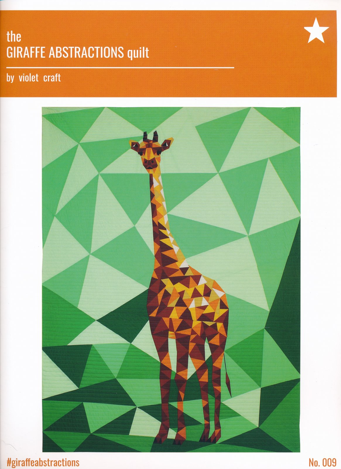 Jungle Abstractions Quilt Pattern: The Giraffe