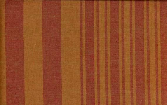 Kaffe Fassett Woven 2 Tone Stripe Pumpkin