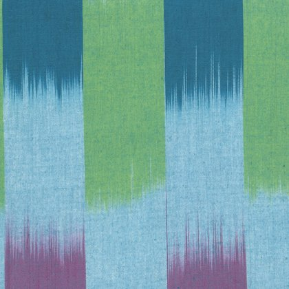 Artisan Collection - Wovens: Ikat Stripe in Ocean