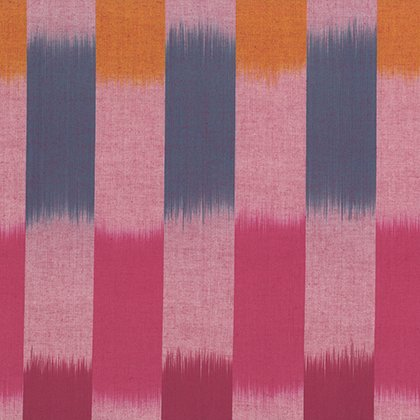 Artisan Collection - Wovens: Ikat Stripe in Red