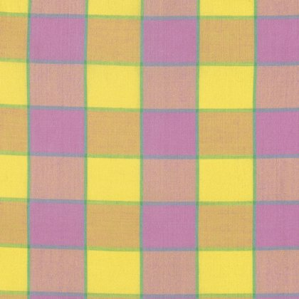 Artisan Collection - Wovens: Checkerboard Plaid Ikat in Pink