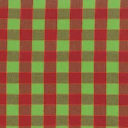 Artisan Collection - Wovens: Checkerboard Plaid Ikat in Red