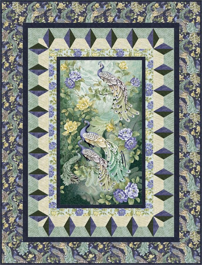 Through the Looking Glass quilt pattern - downlaodable