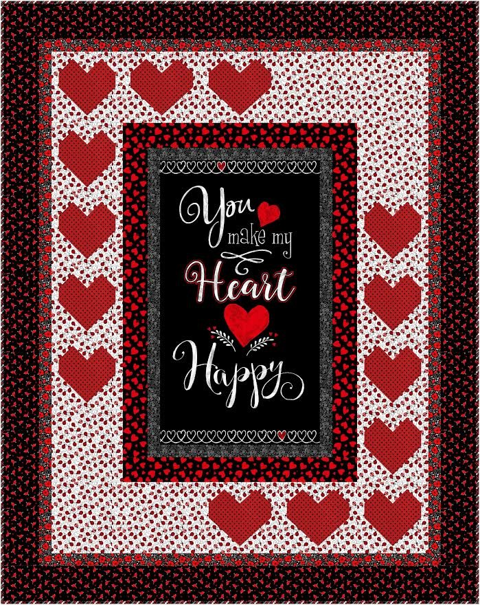 Be Mine quilt pattern - downloadable