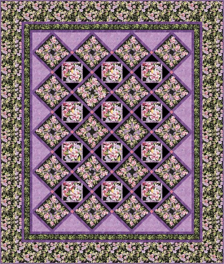 Wine Rack quilt pattern - downloadable