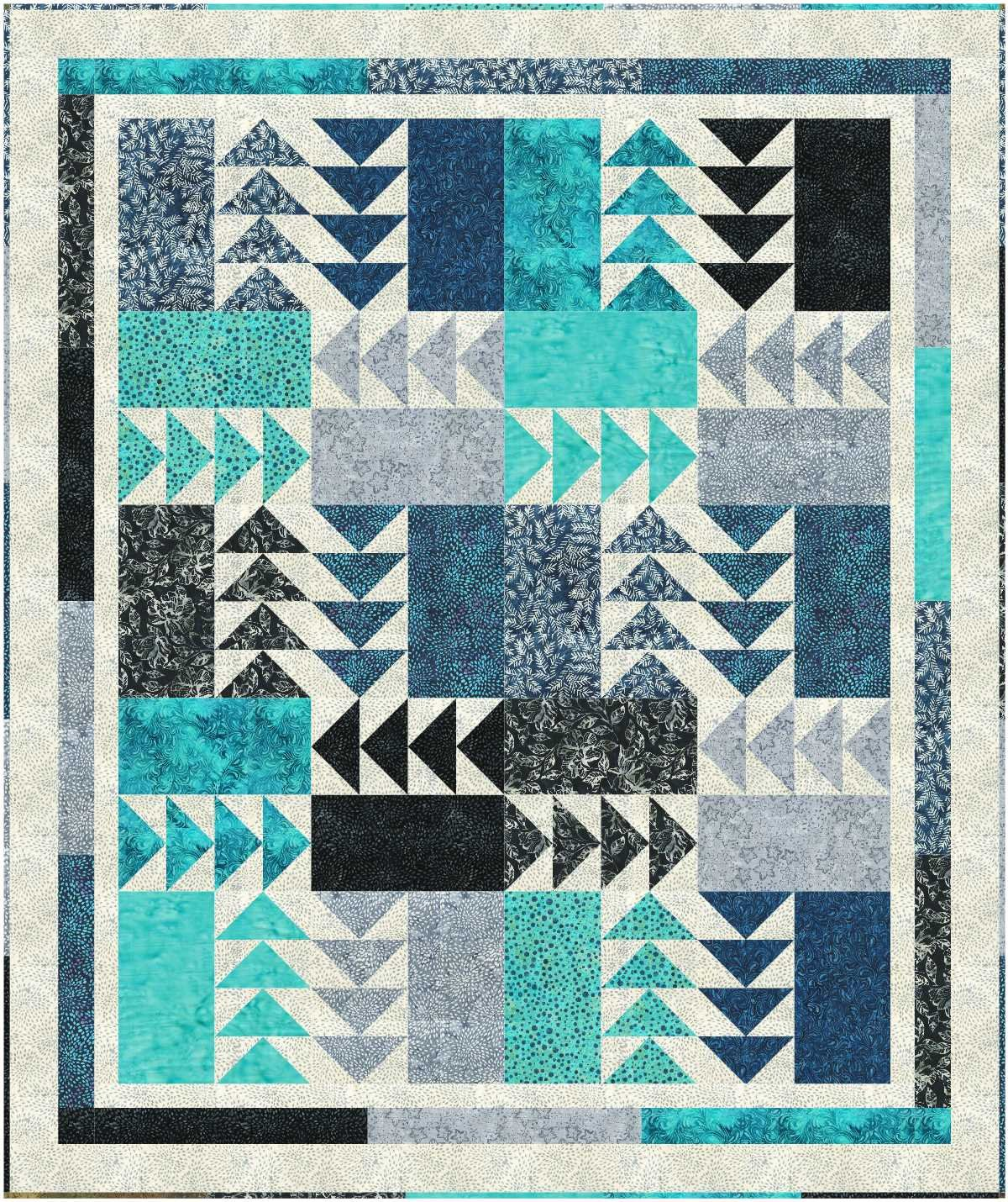 Rush Hour quilt pattern - downloadable