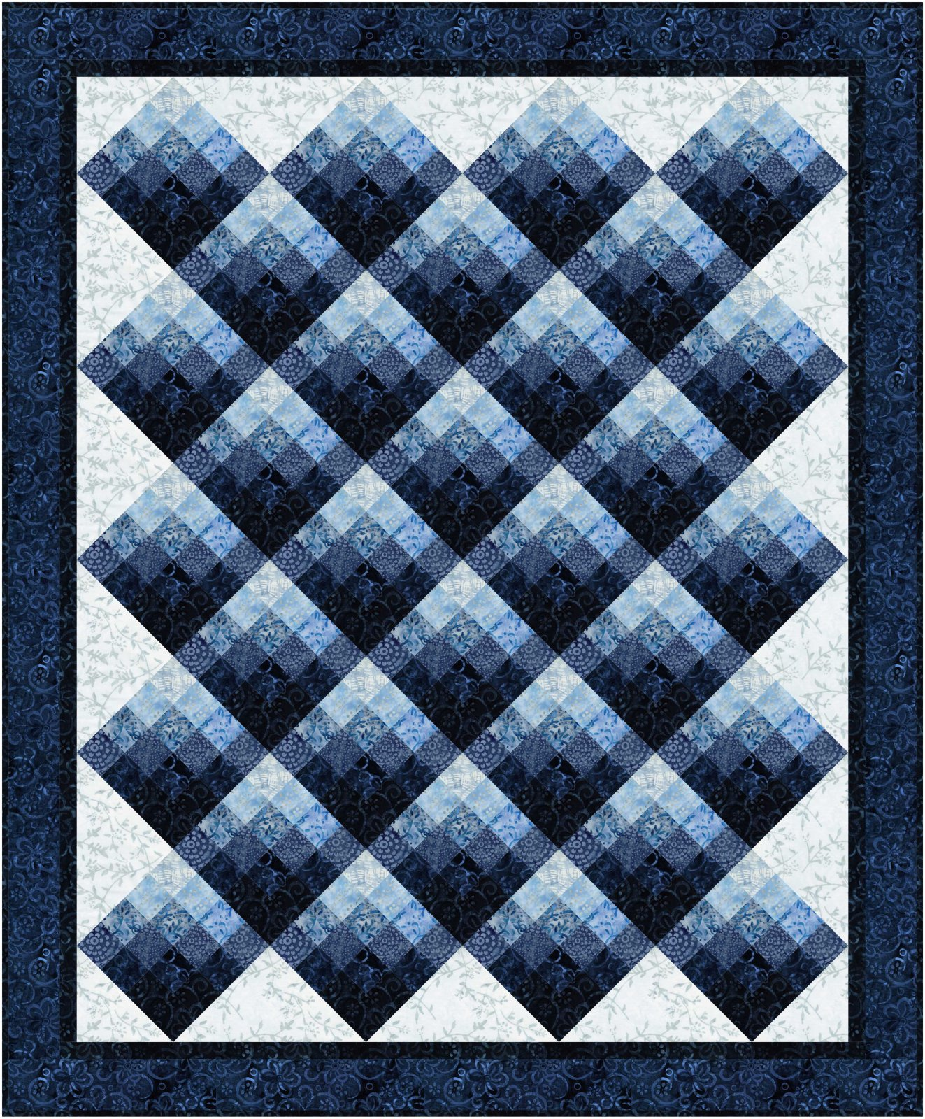 Bejeweled quilt pattern - downloadable