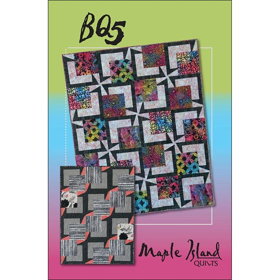 BQ5 pattern - multi-size quilt pattern