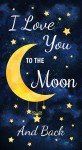 To the Moon and Back quilt panel