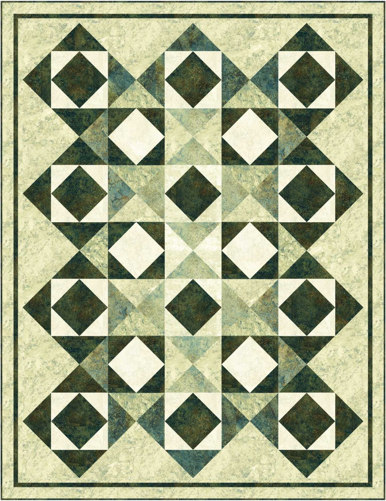 Diamond Mine Lap Quilt Kit