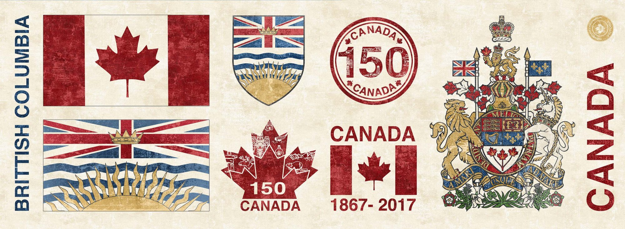Panel #282 - Canadian Sesquicentennial - British Columbia