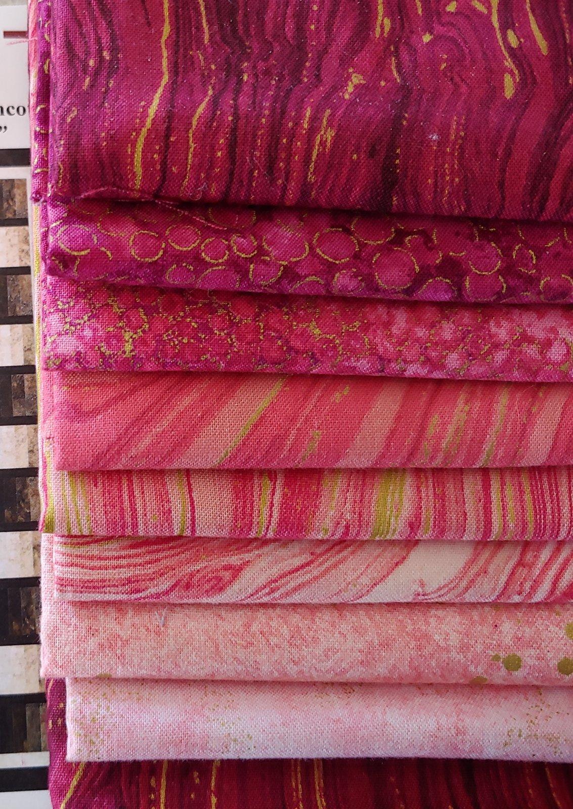 Dream Weaver Lap Quilt Kit - Rose/Burgundy