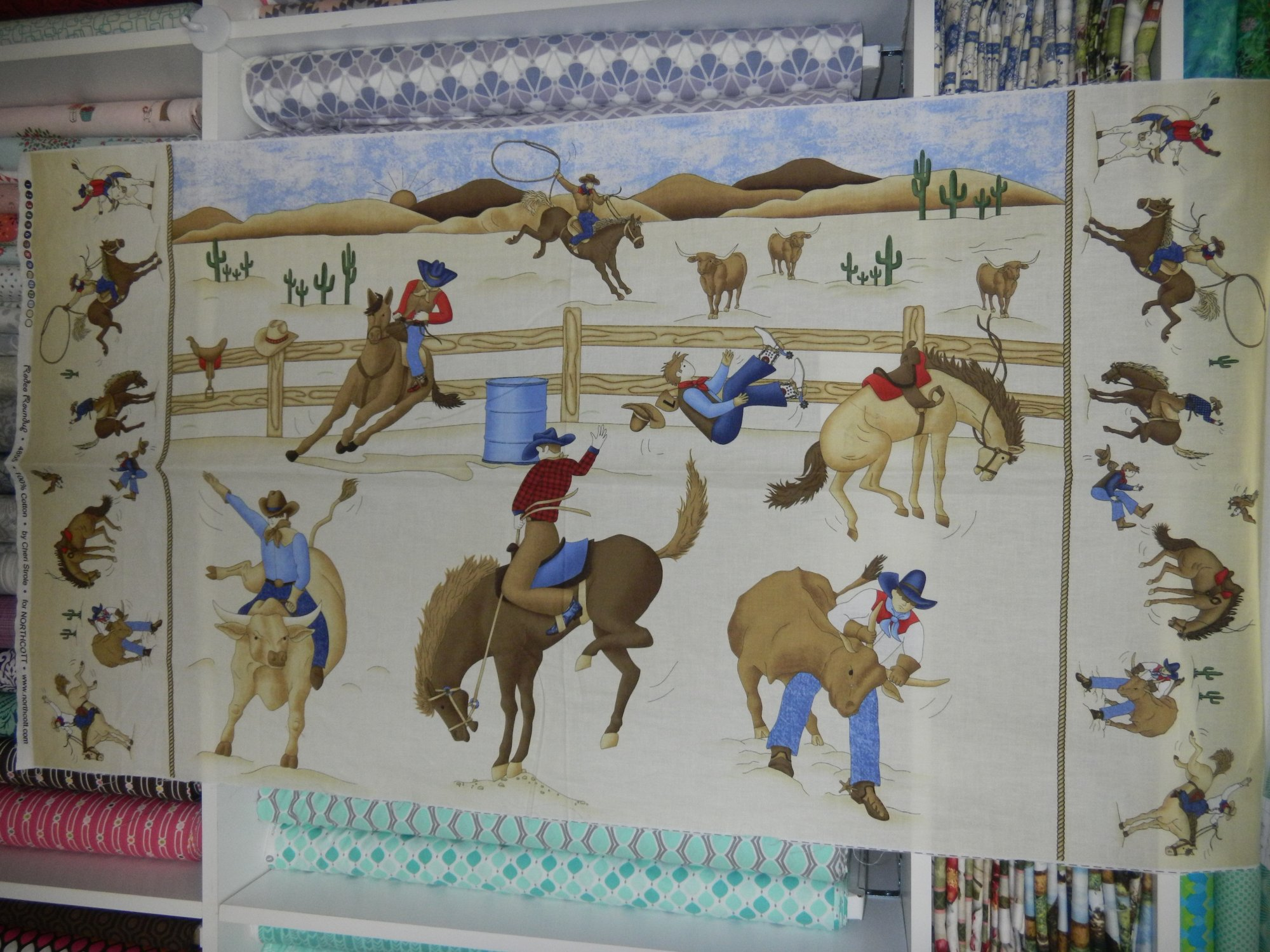 Panel#189 - Rodeo Roundup  - Horses