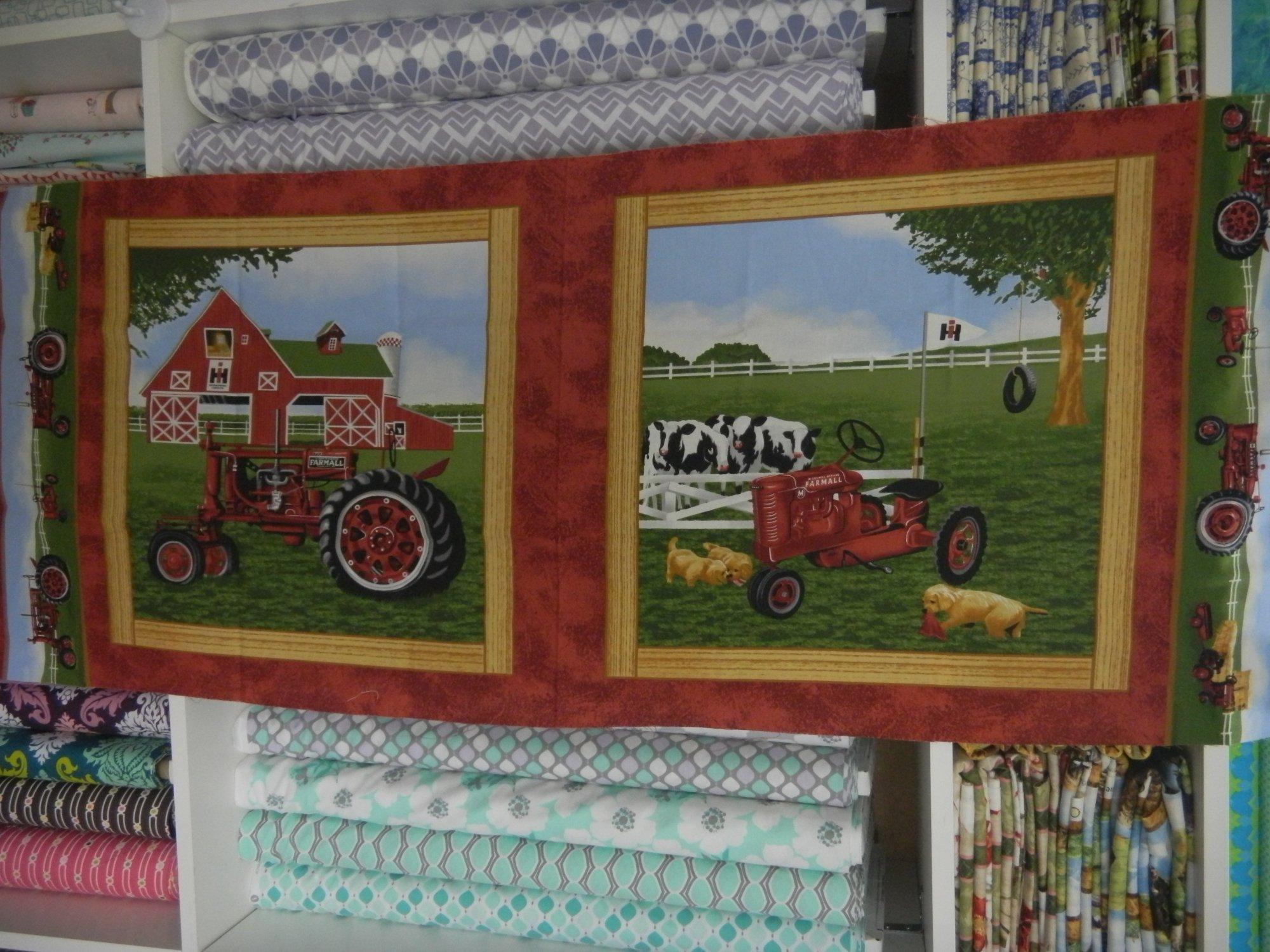 Panel#212- Farmall tractor  - Farm