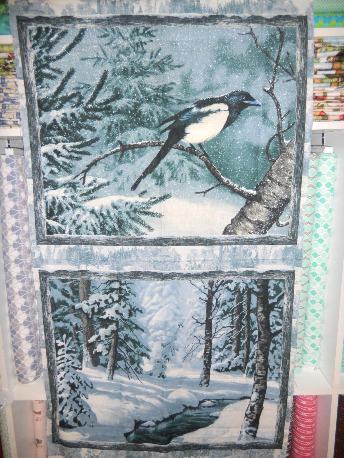 Panel#171 - Winter Whispers - Birds