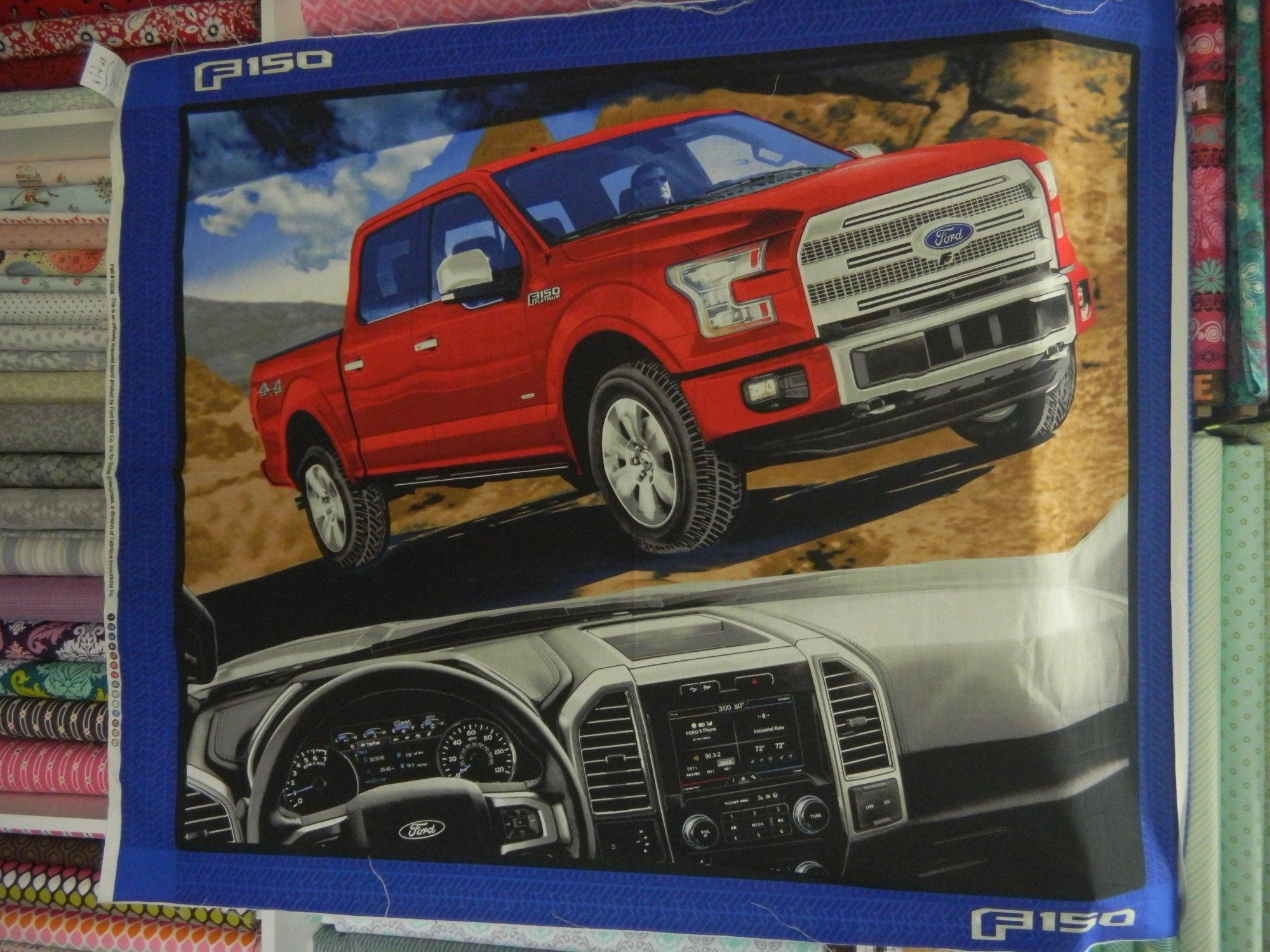 Panel#215 - Ford F150  - Farm