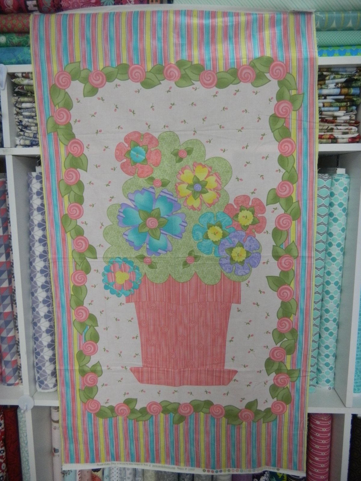 Panel#161 - Sweet Baby Jane - Floral