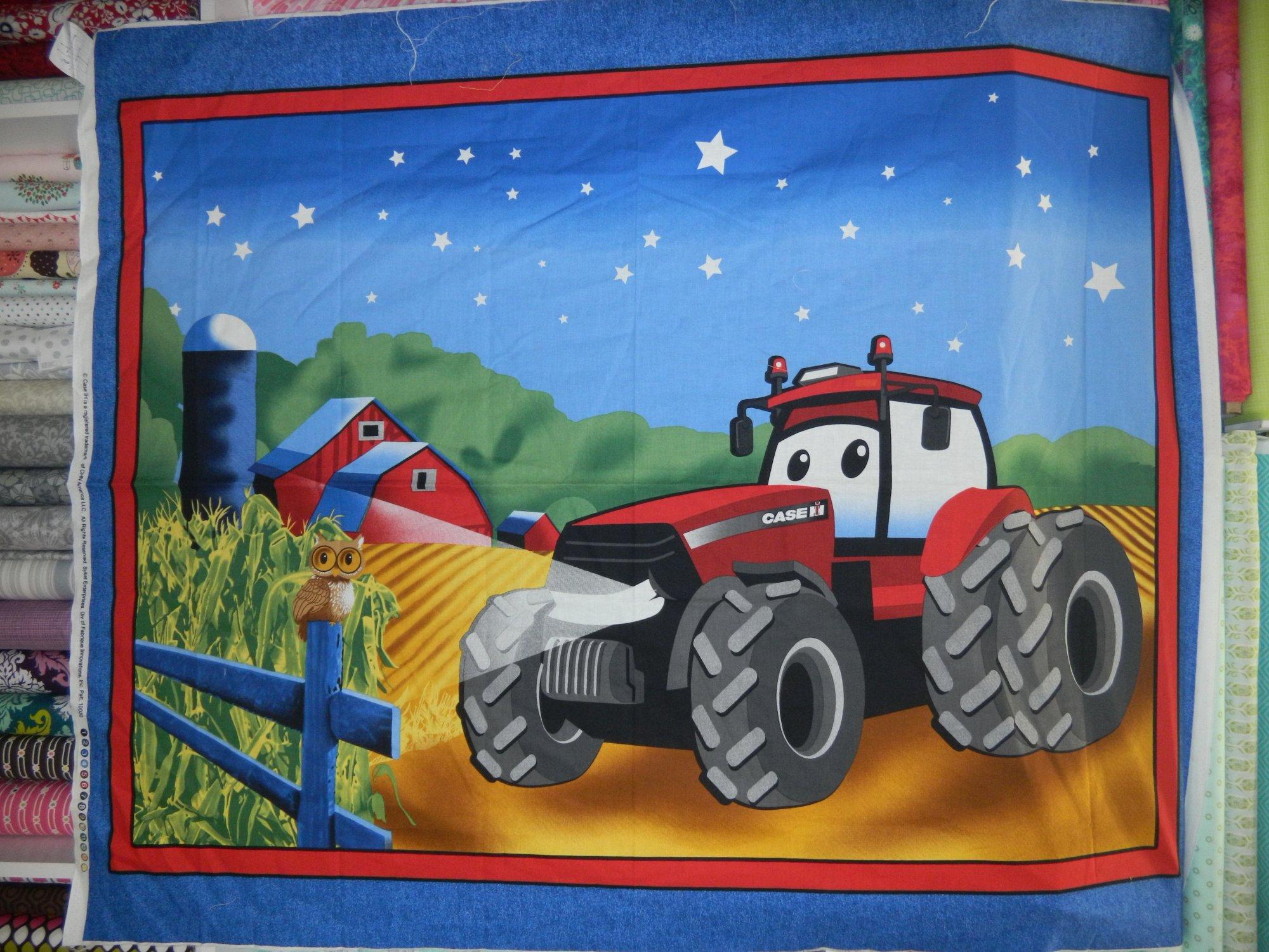 Panel#211- Case IH tractor  - Farm/Kids
